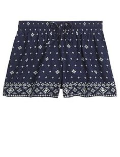 Printed Soft Shorts