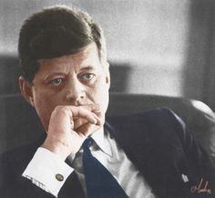 President  ~~ John Fitzgerald Kennedy (May 29, 1917 – November 22, 1963) In office January 20, 1961 – November 22, 1963 After military service as commander of Motor Torpedo Boats PT-109 and PT-59 during World War II in the South Pacific, Kennedy represented Massachusetts's 11th congressional district in the U.S. House of Representatives from 1947 to 1953 as a Democrat. Thereafter, he served in the U.S. Senate from 1953 until 1960.❤❁❤❁❤❁❤❁❤❁❤ http://en.wikipedia.org/wiki/John_F._Kennedy