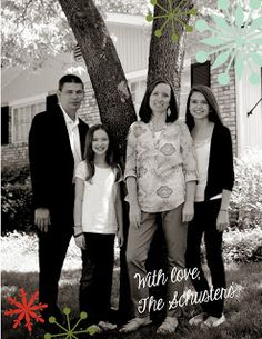 My Digital Studio Christmas Card by Cindy Schuster