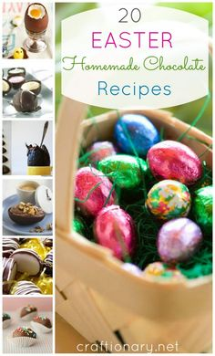 20 Chocolate Easter egg recipes