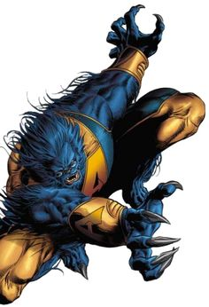 Beast. favorite x-man ever