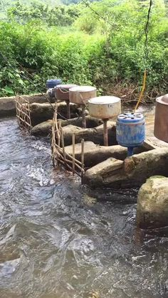 Backyard Projects, Outdoor Projects, Hydroelectric Power, Electrical Projects, Water Powers, Energy Projects, Cool Inventions, Off The Grid, Water Systems