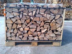 Pallets into Wood storage holder