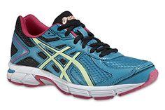 ASICS Gel Pursuit 2 - Zapatillas de running para mujer, color azul / blanco / negro / rosa, talla 39.5 - http://paracorrer.com/producto/asics-gel-pursuit-2-zapatillas-de-running-para-mujer-color-azul-blanco-negro-rosa-talla-39-5/