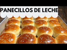 COMO HACER PANECILLOS DE LECHE. BOLLOS DE LECHE - YouTube Pan Bread, Make It Yourself, Breads, Desserts, Recipes, Ramadan, Food, Halloween, Crochet