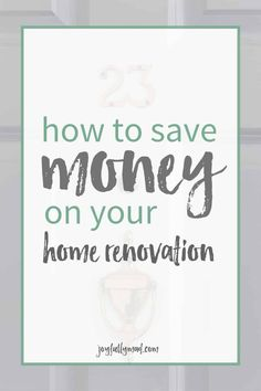 Home Renovation Planning How to save money on your home renovation. A quick list of things you can do to save on big or small renovations! - How to save money on your home renovation. A quick list of things you can do to save on big or small renovations! Home Improvement Loans, Home Improvement Projects, Home Projects, Home Renovation, Home Remodeling, Kitchen Remodeling, Small House Renovation, Kitchen Upgrades, Bathroom Renovations