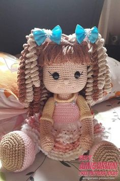 Image result for amigurumi doll with tiara | Things | Pinterest ... | 354x236