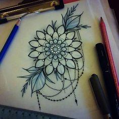Custom Tattoo Artist at Ember. Lace Tattoo, Mandala Tattoo, Top Tattoos, Flower Tattoos, Tattoo Sketches, Tattoo Drawings, Muster Tattoos, Tattoo Stencils, Custom Tattoo