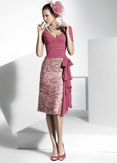 The FashionBrides is the largest online directory dedicated to bridal designers and wedding gowns. Short Dresses, Dresses For Work, Formal Dresses, Godmother Dress, Fairy Godmother, Mom Dress, Dress Suits, Stylish Dresses, Colorful Fashion