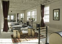 The Body Center - Our studio is a bright and warm loft like space in a charming historical building.