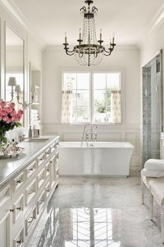 Adding a luxury touch to your bathroom creates a cool relaxing atmosphere. Here are 30 luxury bathroom design ideas that can inspire your next project. Attic Renovation, Attic Remodel, Bad Inspiration, Bathroom Inspiration, Bathroom Ideas, Bath Ideas, Bathroom Hacks, Bathroom Goals, Bathroom Layout