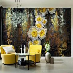 A mural's impact can create both a grand sense of theatre and dramatically alter the sensation of a room's spatial proportions.