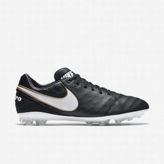 timeless design 27981 38b27  97.26 nike tiempo football boots,Nike Mens Black White Tiempo Legacy II AG-