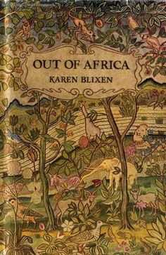 Out of Africa by Karen Blixen – a Danish author also known by her pen name Isak Dinesen. Out of Africa, her second book and her best known work, was first published in Blixen wrote her books in English and then translated her work into Danish. 100 Books To Read, I Love Books, Good Books, My Books, Karen Blixen, Vintage Book Covers, Vintage Books, Modern Library, Out Of Africa