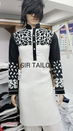 mens pathani designer and elegant look from SIR TAILOR. (chauta pull near sai belt behind  bus stop surat 395003). Mr. amin - 9377859780