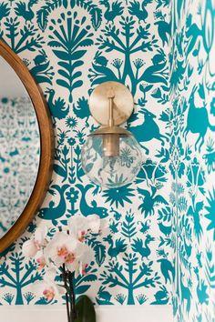 W&D Renovates – A Pattern Happy Basement Bathroom More