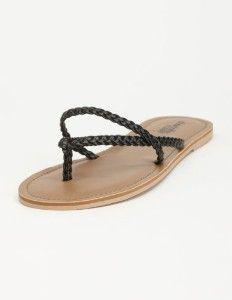braided flip flops | Braided Strap Flip Flop