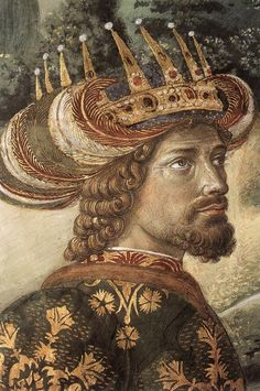 Benozzo Gozzoli, Procession of the Magi in the Palazzo Medici-Riccardi in Florence c1459-1461