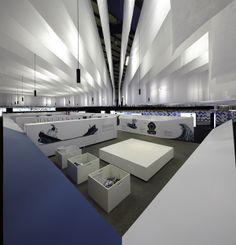 Pavilion Portugal FILBO 2013 by RPVP Designers , via Behance
