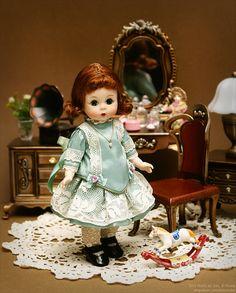 Madame Alexander (1950's) by dressy doll, via Flickr