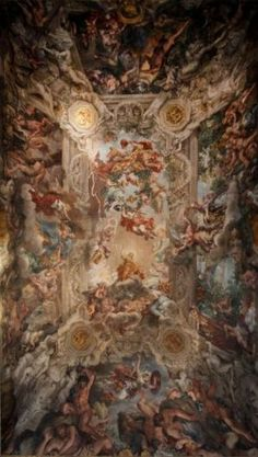 Pietro da Cortona - Trionfo della Divina Provvidenza, 1632-39 - Palazzo Barberini