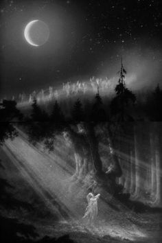 The Fairies, A Midsummer Night's Dream (1935, dir. William Dieterle & Max Reinhardt)  The iron tongue of midnight hath told twelve;  lovers to bed;  'tis almost fairy time.