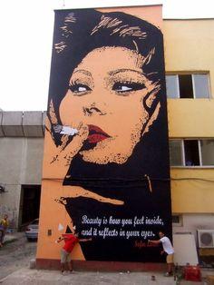 Sophia Loren de Chekos'art (Tetovo, Macedonia – 2013)
