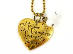 Mutter+Tochter+Kette+von+Fröhlicher+Schmuck+auf+DaWanda.com