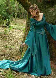 Princess Jasmine by Disney Bridal - Celtic or medieval inspired wedding dresses