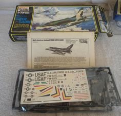 Minicraft #035 1/72 NA F-1000 Super Sabre Plastic Military Airplane Model Kit #Minicraft