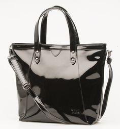 Palmroth black patent bag - laukku olkahihnalla musta lakeri - www.palmrothshop.com Rebecca Minkoff, The Originals, Bags, Accessories, Collection, Shoes, Architecture, Women, Spring