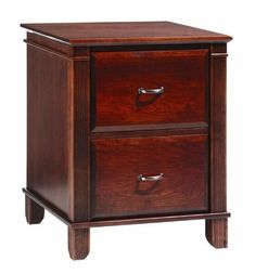 Amish Arlington Executive 2 Drawer File Cabinet Get organized while enjoying the beauty and durability of solid wood furniture. What wood do you like best? Choose wood, stain and hardware and the building begins! #filecabinet #officestorage Wooden File Cabinet, 2 Drawer File Cabinet, Mobile File Cabinet, Custom Bathroom Cabinets, Custom Cabinets, Wood Cabinets, Filing Cabinets, Hardwood Furniture, Home Furniture