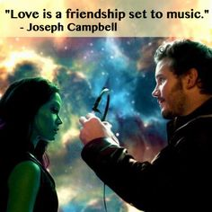 """Love is a friendship set to music."" -Joseph Campbell"