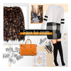 """""""Have a furtastic winter ⛄️"""" by missdee-93 ❤ liked on Polyvore featuring Barbara Bui, Dries Van Noten, Gucci, Bobbi Brown Cosmetics and Burberry"""