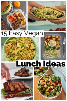 Ready to shake up your lunchbox game? These vegan packed lunch ideas are just what you need, whether you're packing for yourself or a kid. Easy Vegan Lunch, Vegan Sushi, Vegan Lunches, Vegan Meals, Guacamole Salad, Tofu Salad, Chicken Curry Salad, Vegan Breakfast Recipes, Delicious Vegan Recipes