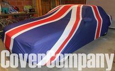Union Jack Custom Car Cover for Jaguar