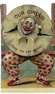 vintage circus clown images - by carter flynn Old Circus, Dark Circus, Circus Art, Circus Clown, Night Circus, Circus Theme, Circus Room, Circus Birthday, Birthday Parties