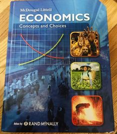 Mcdougal Littell Economics Choices And Concepts 2008 Like New Chapter Books, Read Aloud, Economics, Choices, Concept, Reading, Reading Books, Finance Books