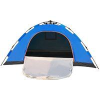 On sale Automatically Camping Tents For 2 People Blue Black friday