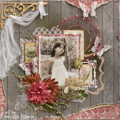 Be You **NEW Bo Bunny - Garden Journal with Video Tutorial!** - Scrapbook.com