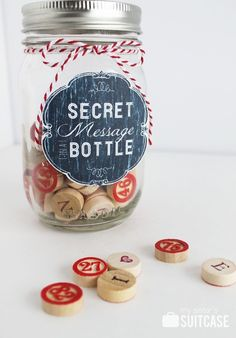 My Sister's Suitcase: Secret Message in a Bottle #Valentine