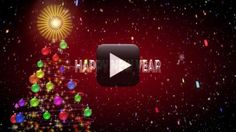 Falling rose flowers animation in black screen background all just download this amazing effect of happy new year 2017 wishes for greetings whatsapp facebook sms video from the below links and enjoy m4hsunfo
