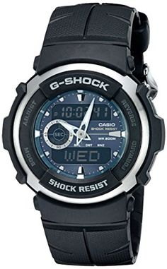 Men's Wrist Watches - GShock G3003AV Mens Black Resin Sport Watch >>> Check out the image by visiting the link. (This is an Amazon affiliate link)