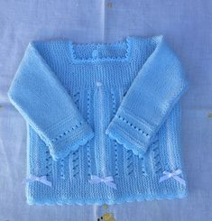 Knitting Designs, Knitting Patterns Free, Free Knitting, Baby Knitting, Crochet Baby, Knit Crochet, Baby Cardigan, Knitting For Kids, Kids Outfits