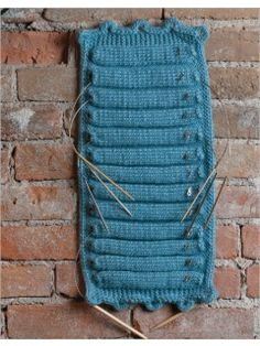 Knitted Needle Holder | InterweaveStore.com