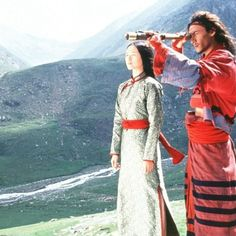 """ I would rather be a ghost drifting by your side as a condemned soul than enter heaven without you... because of your love, I will never be a lonely spirit"" Li Mu Bai: Crouching Tiger Hidden Dragon"