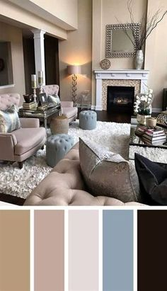 11 Cozy Living Room color schemes to create color harmony in your living room - Jule H. - 11 Cozy Living Room color schemes to create color harmony in your living room – - Good Living Room Colors, Living Room Color Schemes, Cozy Living Rooms, Living Room Grey, Living Room Interior, Home And Living, Living Room Designs, Living Area, Grey Living Room Ideas Colour Palettes