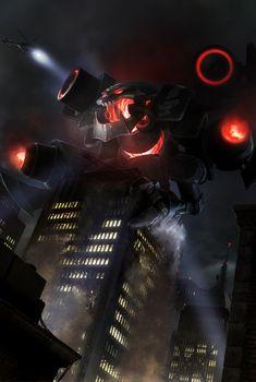 Battlecast Prime ChoGath  League Of Legends Fan Art