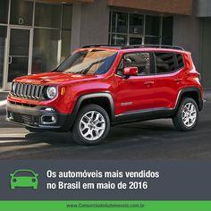 Confira quais foram os veículos mais vendidos no Brasil no último mês e aproveite para programar sua compra por meio do consórcio: https://www.consorciodeautomoveis.com.br/noticias/os-carros-mais-vendidos-no-brasil-em-maio-de-2016?idcampanha=206&utm_source=Pinterest&utm_medium=Perfil&utm_campaign=redessociais