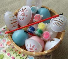 Egyszerű tojás díszítés